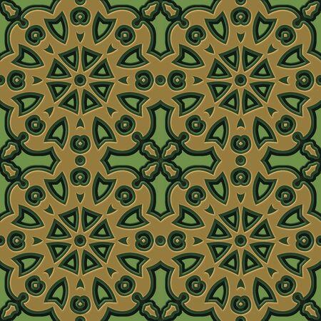 Seamless dark floral pattern background 版權商用圖片