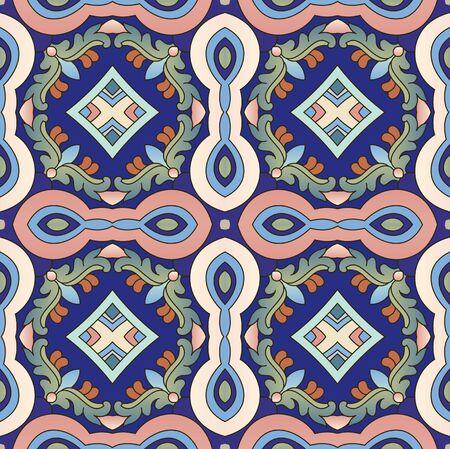 Seamless geometric abstract art pattern background 版權商用圖片