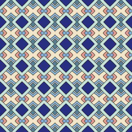 Seamless geometric rhombus shading background pattern