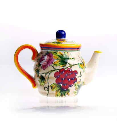 decor: Home decor, porcelain teapot