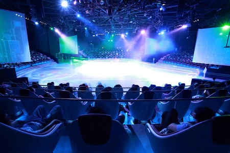 fari da palco: Luci del palcoscenico - Studio preparati per la produzione