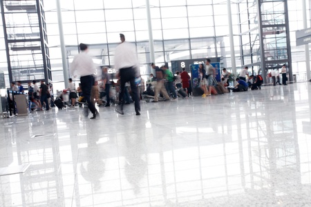 passenger in the interior of the airport Stock Photo - 12591313