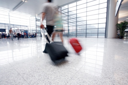 passenger in the interior of the airport Stock Photo - 12590970