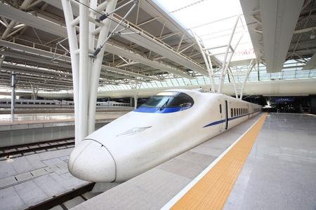 diesel locomotives: Fast train with motion blur