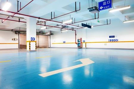 car park interior: Car park interior