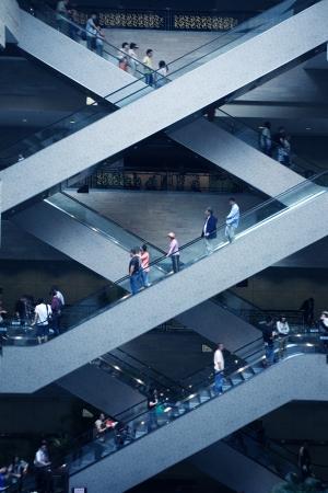 escalator in super mall