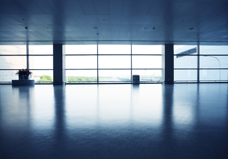 verre: bureau de l'int�rieur avec paroi en verre