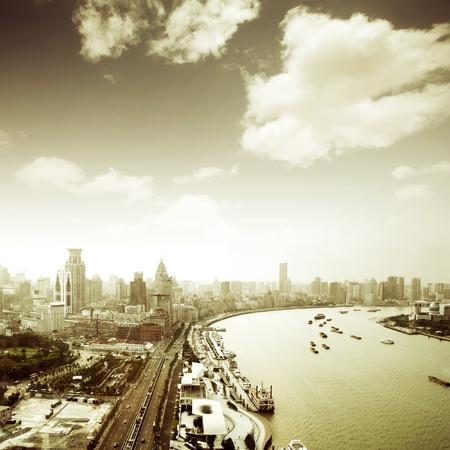 future city: modern city