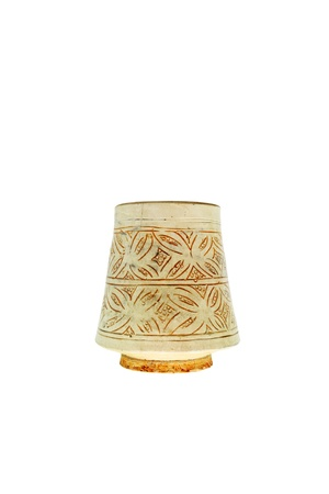 Antique Chinese Vase isolated over white Stock Photo - 13310935