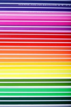 many colorful pens,background,closeup   photo