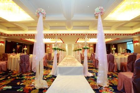 Romantic wedding scene and stage Stock Photo - 13491753