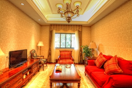 structure and the furnishings within the Chinese classical hotel Stock Photo - 13491724