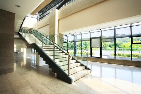 Modern stairs in a building Stock Photo - 13491483