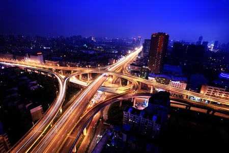 A road junction at Hangzhou Stock Photo - 13537721