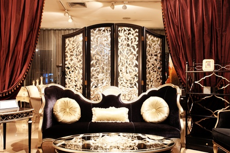 luxury hotel: luxurious hotel room in  Editorial