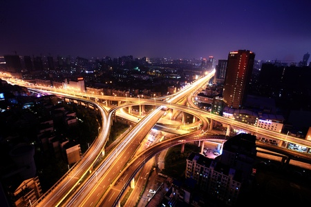 A road junction at Hangzhou Stock Photo - 13542907