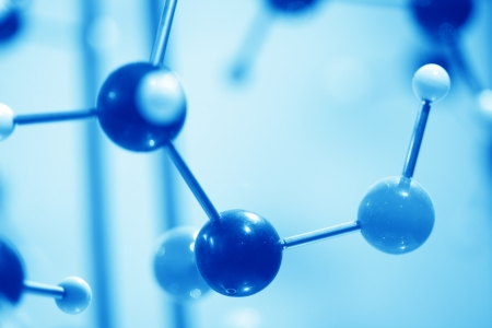 close up of Molecular structure  model Stock Photo - 13762374
