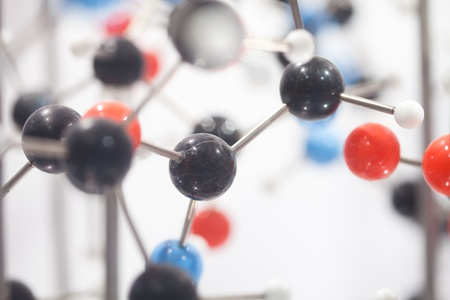 close up of Molecular structure  model Stock Photo - 13762428