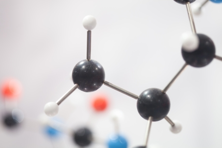 close up of Molecular structure  model Stock Photo - 13762378