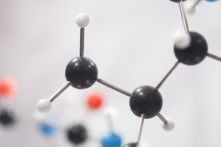 close up of Molecular structure  model Stock Photo - 13762427