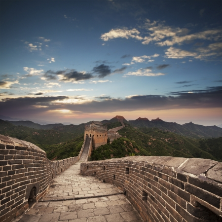 greatwall the landmark of china and  beijing photo