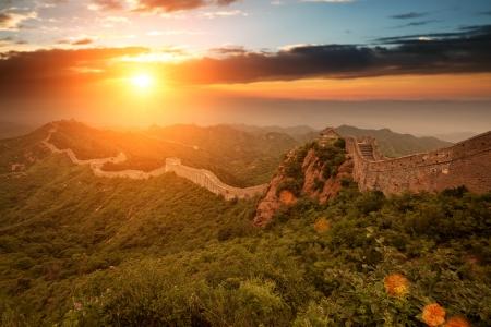 muralla china: Greatwall el s�mbolo de China y Beijing