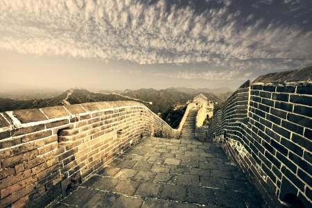 greatwall the landmark of china and  beijing Stock Photo - 15495067