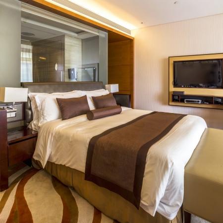 interior of grand hotel in Hangzhou. Stock Photo - 21795138