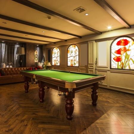 interior of the Italian restaurant