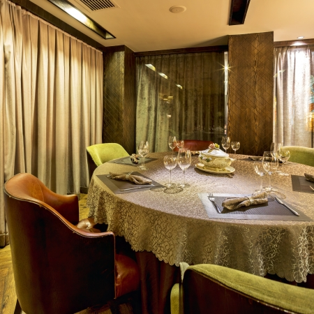 interior of the Italian restaurant Stock Photo - 21795147