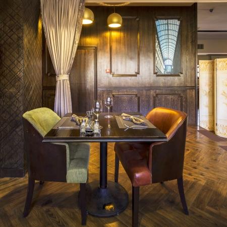 hotel interior: interior of the Italian restaurant