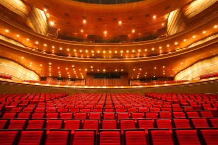 auditorium: interior of the theater