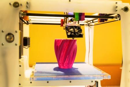 the pinion: 3D printer