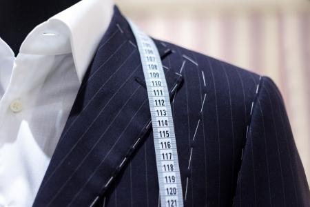 Suits on shop mannequins photo