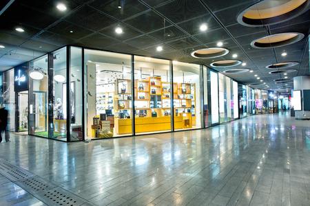 showwindow in modern shop