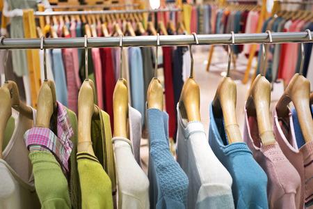 clothing rack: Fashion clothing rack display