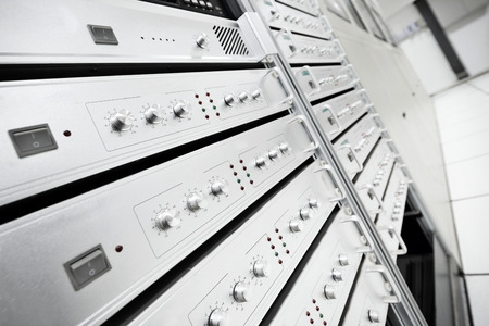 hall monitors: Control room of the modern office