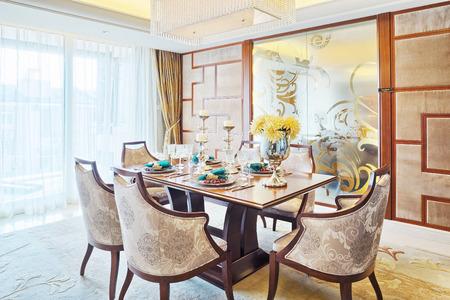 dining room: dining room Editorial