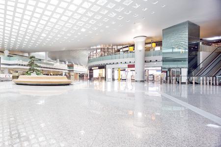 retail scene: interior of shoppingmall Editorial