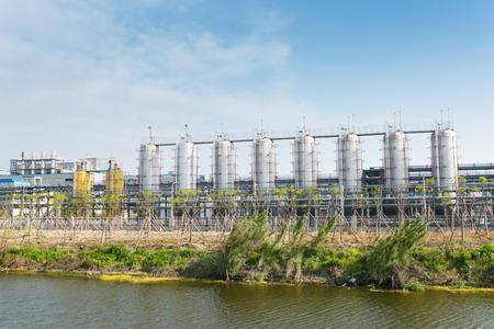 petrochemie industrie: petrochemical industry factory