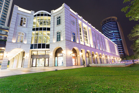 exterior of Shopping Center