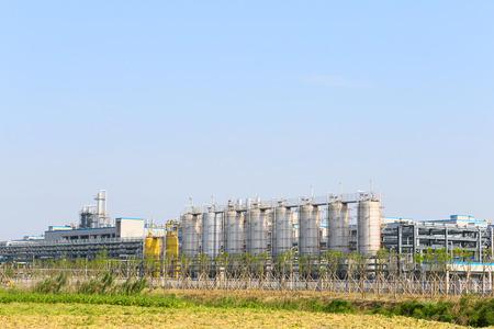 petrochemie industrie: petrochemische industrie fabriek