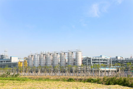industria petroquimica: f�brica de la industria petroqu�mica