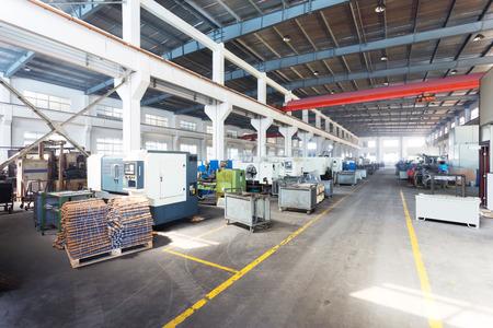 interior of modern workplace