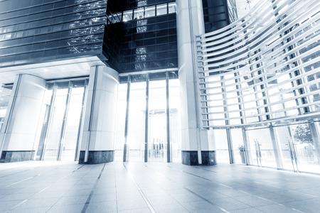 modern office entrance  photo