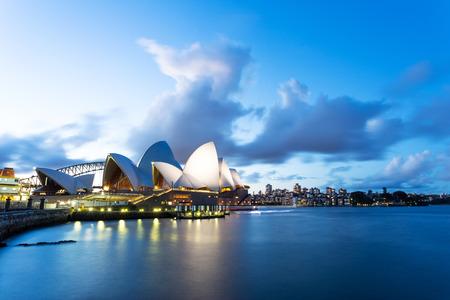 シドニー ・ オペラ ・ ハウスの風景