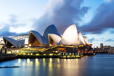 the scenery of sydney opera house