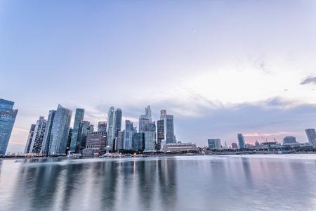 prosperous cityscape,buildings exterior