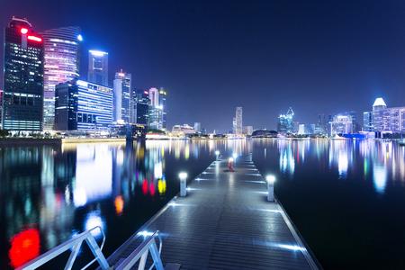 prosperous: night view of prosperous city