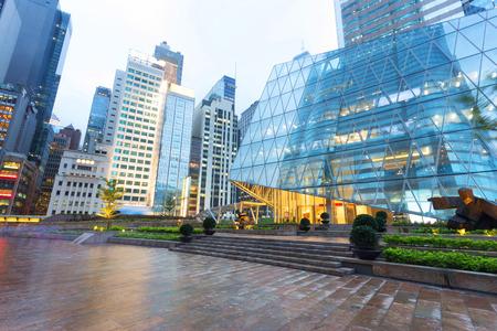 consultorio: exterior del edificio de oficinas de negocios moderno Foto de archivo